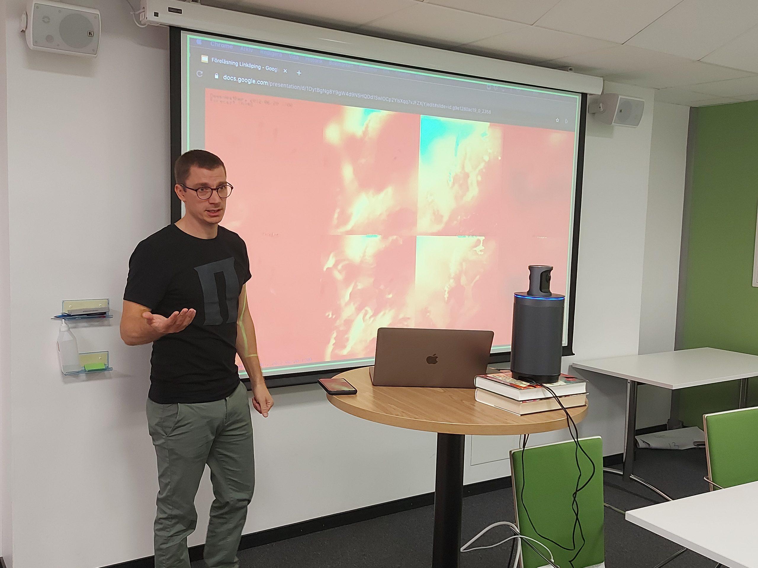 Uppskattad AI-workshop med Peltarion