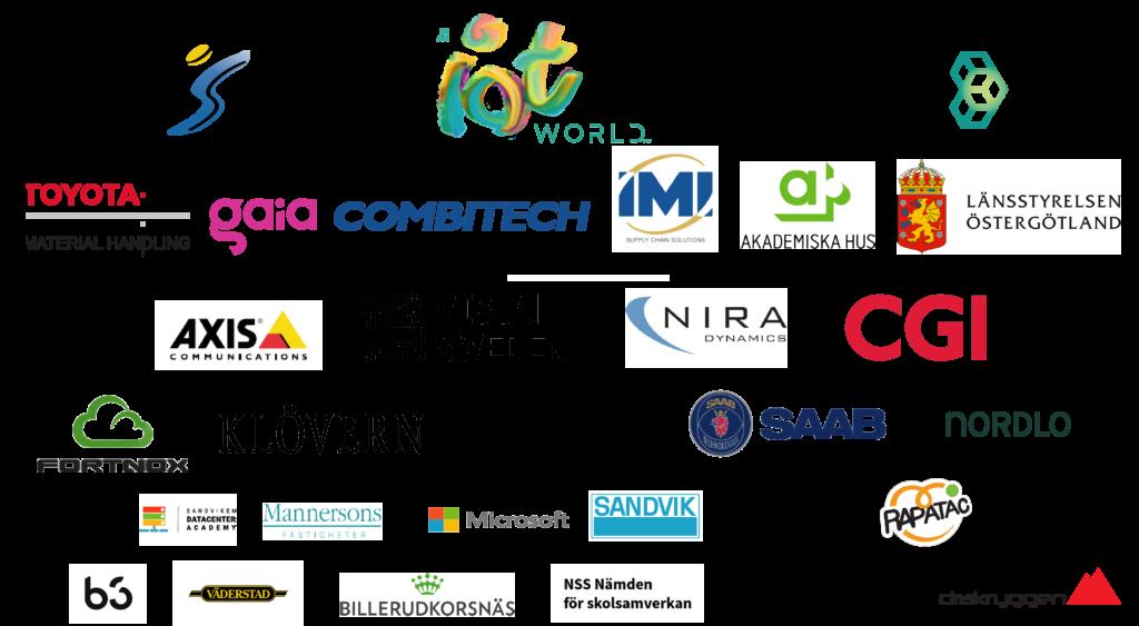 Sponsorer Code Summer Camp 2021, Sandvik, NSS, Drakryggen, Mannersons, Väderstad, Billerudkornäs, Microsoft, Sandvik, Rapatac, Nordlo, Saab Spirisys, klävern, fortnox, b3, sandviken datacenter, cgi, nira, visual sweden, axis, stångåstaden, iotworld, sanktkors, toyota, gaia, combitech, imi, akademiska hus, länsstyrelsen östergötland